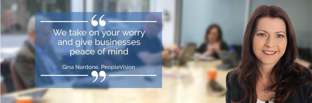 Gina Nardone PeopleVision we give businesses peace of mind